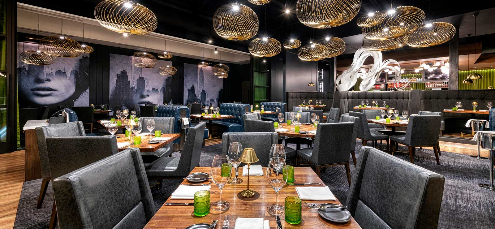 The Americano Restaurant decor